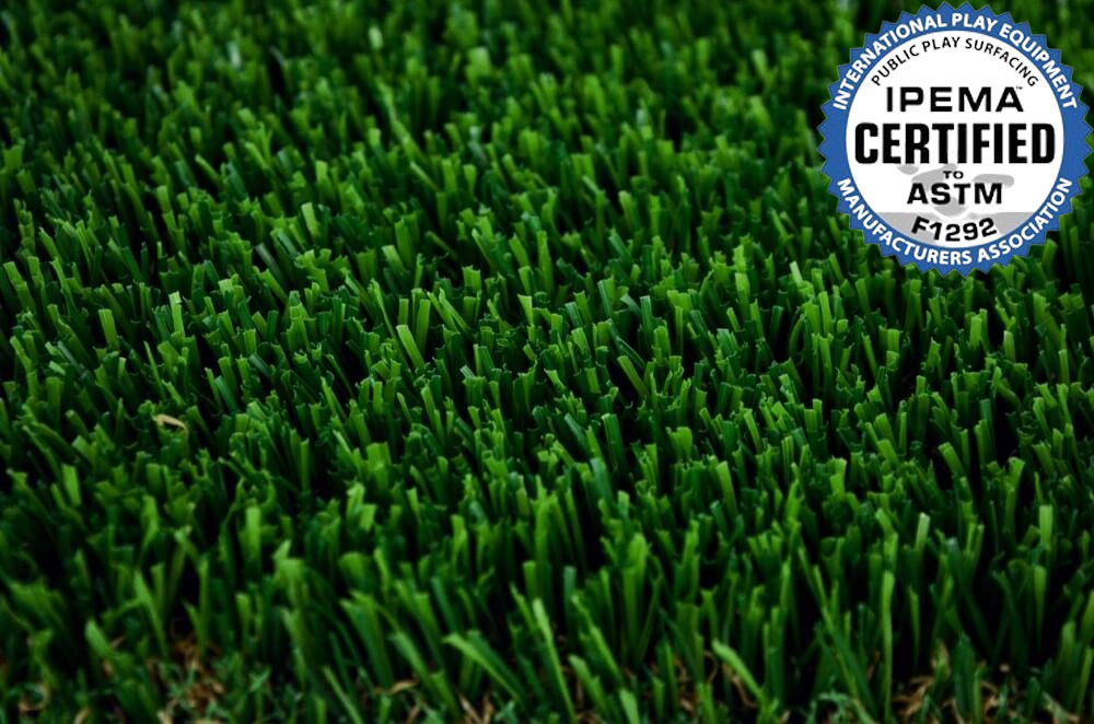 Close up of Envylawn's Premium Play Artificial Grass