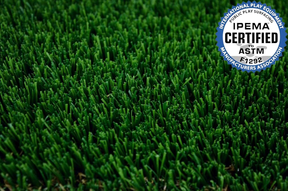 Close up of Envylawn's EnvyPlay Artificial Grass